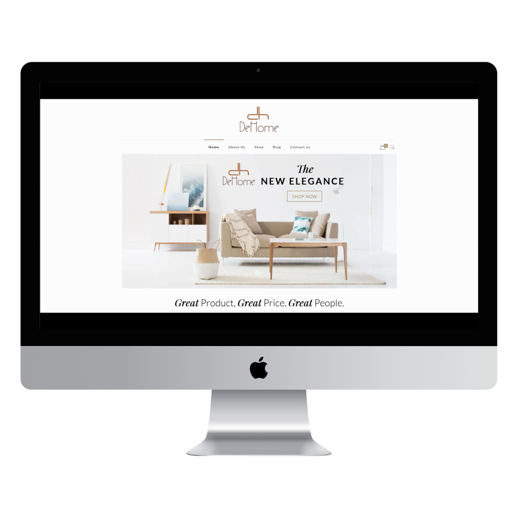 Dehome Furniture Launched New Website Dehome Furniture